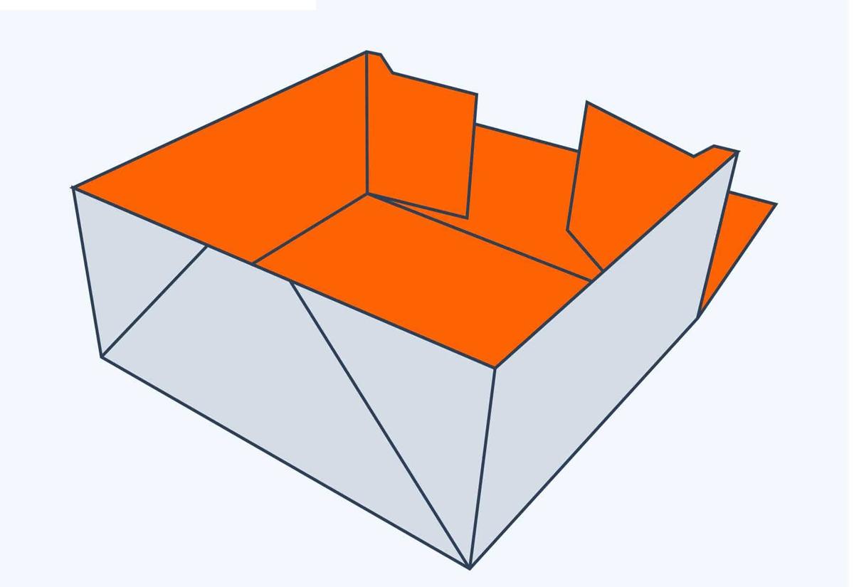 4 Corner Tray T Top