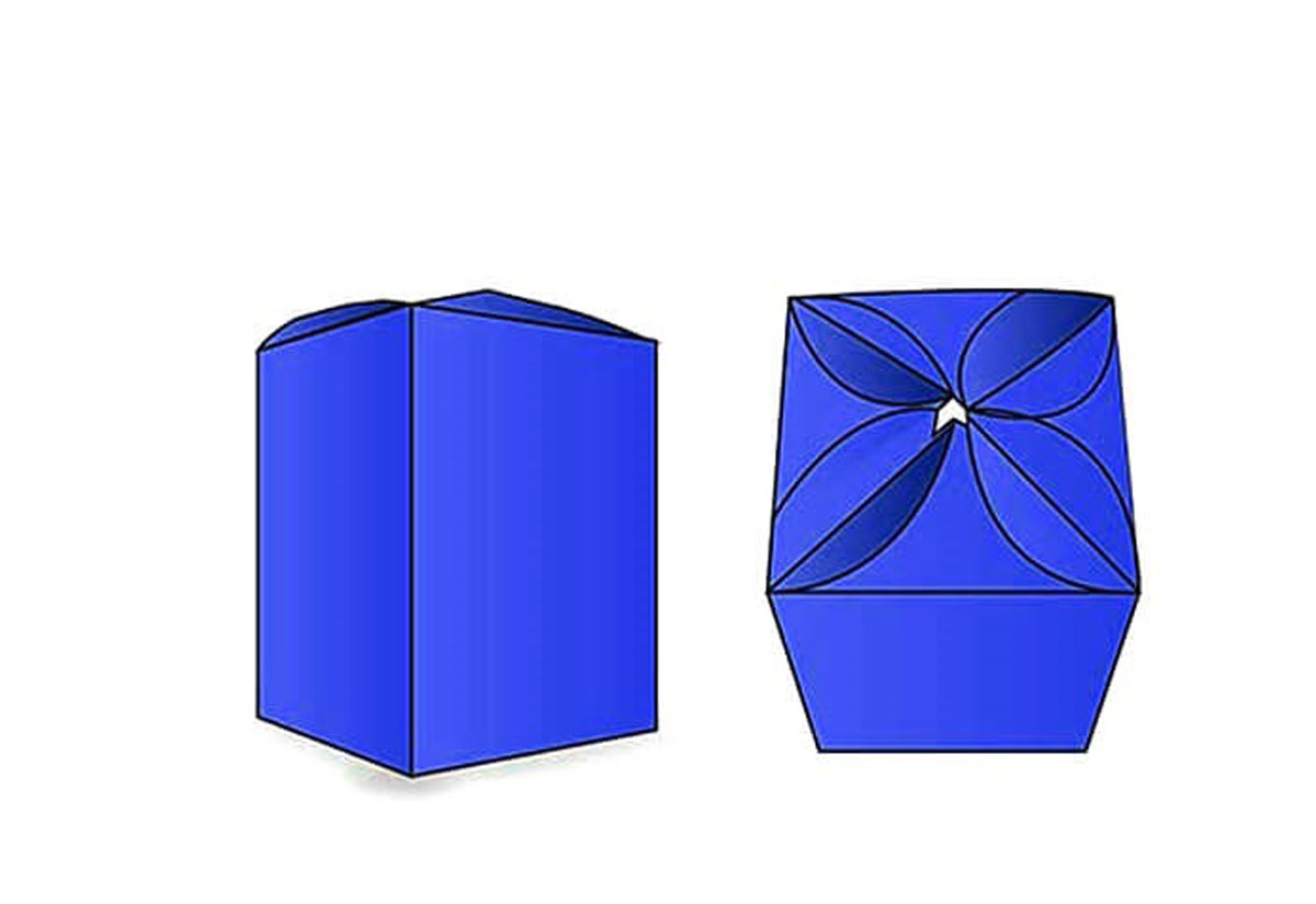 Flower Shaped Boxes