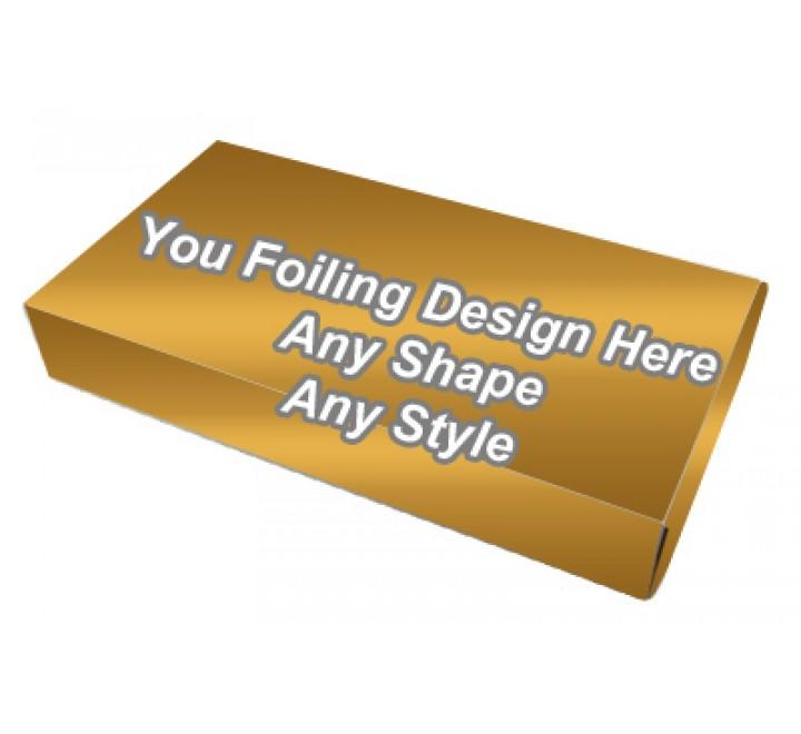 Golden Foiling - Latex Gloves Packaging