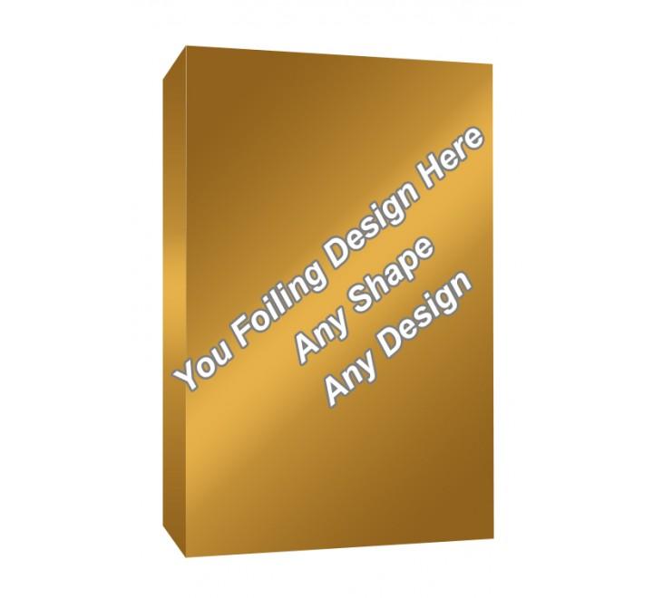 Golden Foiling - Fish Oil Packaging