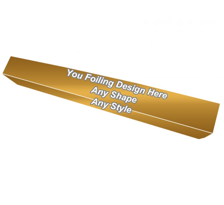 Golden Foiling - Face Mask Packaging Boxes