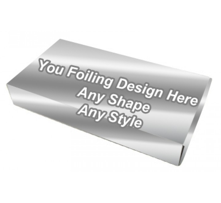 Silver Foiling - Window Packaging Boxes