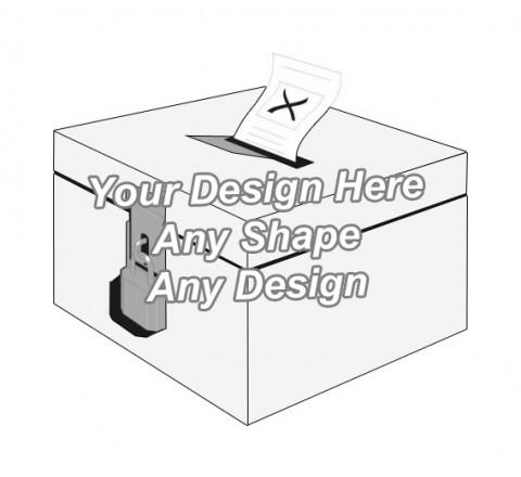 Cardboard - Ballot Boxes