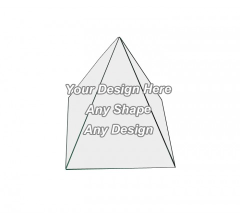 Custom - Pyramid Shape Boxes