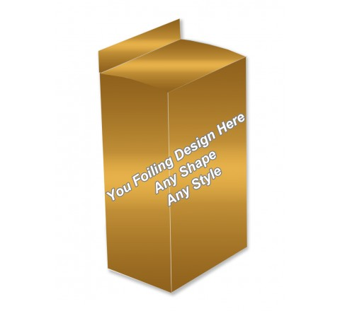 Golden Foiling - Lotion Packaging Boxes