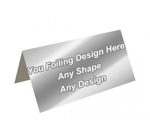 Silver Foiling - Header Card Packaging